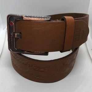 DSquared Italian leather belt by Dean & Dan GUC 26